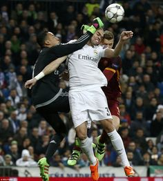 Navas, a commanding presence in the Real Madrid goal.