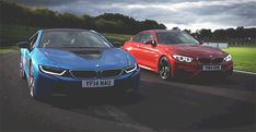 ArchEclectic — cargifs:   BMW i8 and M4.
