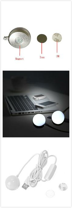 WITUSE Flexible Mini USB Led Light Lamp For Computer Keyboard Notebook Reading