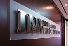 outdoor metallic signage - Google Search