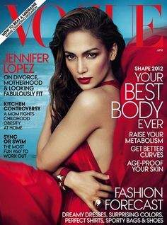 The Fashion Bomb News Breakdown: Jennifer Lopez Covers Vogue\u0026#39;s April 2012 Issue, Peep Rihanna\u0026#39;s Armani Jeans Ad, and Are These The New Nike Air Yeezy x Kobe ...
