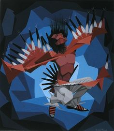 South Dakota Native American Artists   Oscar Howe Collection