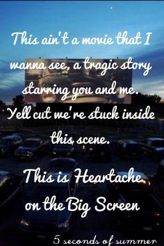 Heartache on the big screen 5 seconds of summer