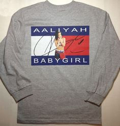 Image of BABYGIRL (HEATHER GREY LONGSLEEVE) FREE SHIPPING (US only)
