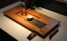 Bamboo tea tray displaying and serveing tea tea by Chinateaware, $155.00