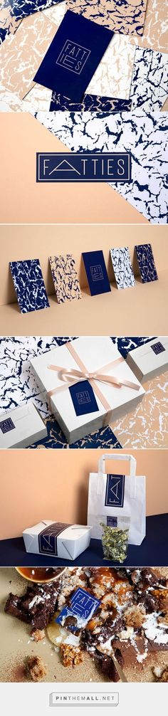 Fatties packaging branding by Identity Designed curated by Packaging Diva PD.