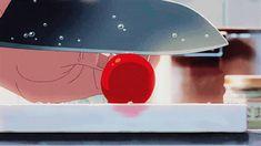 Makoto Shinkai anime food anime gif the garden of words Kotonoha no Niwa anime film Anime Gifs, All Anime, Manga Anime, Anime Art, Gif Animé, Animated Gif, Main Manga, Anime Bento, The Garden Of Words