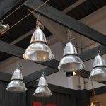 Set of 20 French Vintage Industrial Holophane Pendant Lights – SOLD