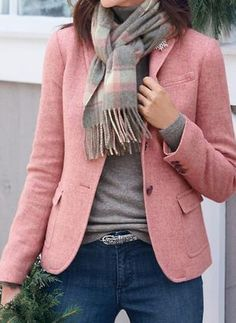 Blazer Outfits, Fall Outfits, Casual Outfits, Fashion Outfits, Fashion Styles, Women's Fashion, Stil Inspiration, Plus Size Coats, Online Shopping Clothes