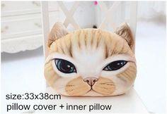 Cartoon Cat Cushion Pillow