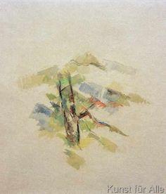 Paul Cézanne - Baumstudie