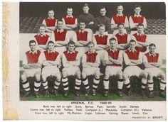 #Arsenal 1949-50.