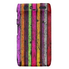 Colorful Grunge Pattern - Droid RAZR Case