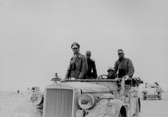 Erwin Johannes Eugen Rommel (15 November 1891 – 14 October 1944), popularly known as the Desert Fox and was a German Field Marshal of World War II. He won the respect of both his own troops, and the enemies he fought.