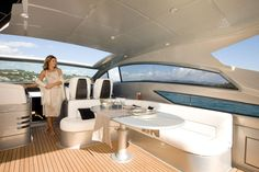 Internal view Pershing Yacht - Pershing 58  #yacht #luxury #ferretti #pershing