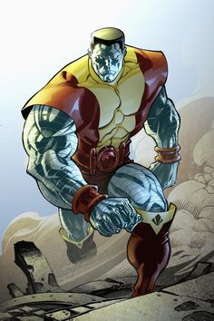 The x-Man Colossus or a muscular wizard who cast the iron skin spell?