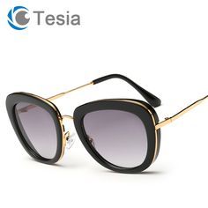48f92d9fb5 Find More Sunglasses Information about TESIA Elegant Brand Sunglasses Women  Wrap Sun Glasses Frames Mirror Lens
