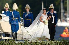 Princess Madeleine - The Wedding Of Princess Madeleine & Christopher O'Neill - Evening Banquet