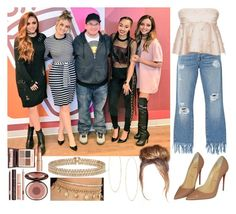 5th Member of Little Mix || Connecticut Signing by missemily131000 on Polyvore featuring polyvore fashion style Natasha Zinko 3x1 Christian Louboutin Lanvin Lana Charlotte Tilbury clothing