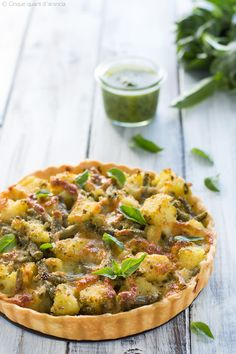Beer Recipes, Pizza Recipes, Vegetarian Recipes, Quiches, Strudel, Italy Food, Antipasto, Finger Foods, I Foods