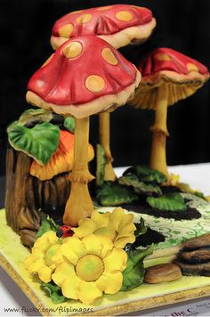Woodland cake topper inspiration