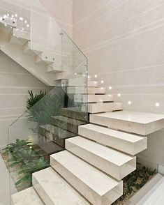 Ideas Formulas And Shortcuts For Stair Lighting Ideas Home Stairs Design, Stair Railing Design, Interior Stairs, Interior Design Living Room, Stairs In Living Room, House Stairs, Modern House Plans, Modern House Design, Modern Stairs Design