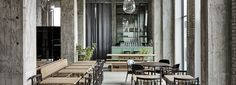 SPACE copenhagen converts warehouse into restaurant 108 for rené redzepi