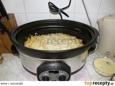 Zapečené brambory v pomalém hrnci Rice Cooker, Slow Cooker, Macaroni And Cheese, Crockpot, Potatoes, Ethnic Recipes, Kitchen, Ph, Food