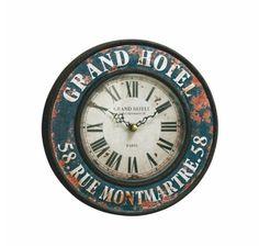 Väggklocka retro - EJA Grand Hotel