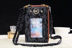 iphone 7 Plus case bag michael kors phone wallet black