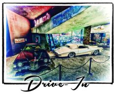 Artistic Google - Google+ - Drive-In by Shawna Mac