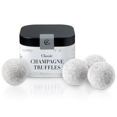 Classic Champagne Truffles