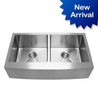 stainless steel butler sink double