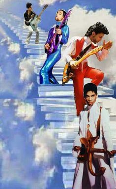 Prince ~ climbing for heaven.