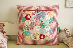 Hexagon Pillow.