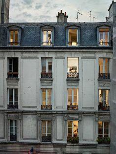 24 Ideas For Apartment Building Exterior Paris France My Little Paris, Building Exterior, The Places Youll Go, Exterior Design, Exterior Paint, Architecture Design, French Architecture, Building Architecture, Building Design