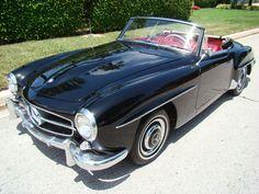 OH! i love love love this car!!!  1960 Mercedes Benz 190SL