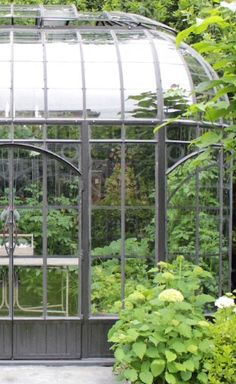 Conservatories & Greenhouses | Traditional metal framed glass