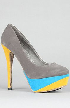 Sole Boutique:The Kylie Shoe in Gray