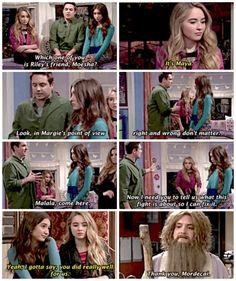 "#GirlMeetsWorld 2x05 ""Girl Meets Mr. Squirrels"" - Eric and Maya"