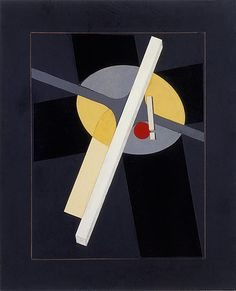 El Lissitzky, Study for Proun (Study for Proun G7), 1922. Stedelijk Museum Amsterdam