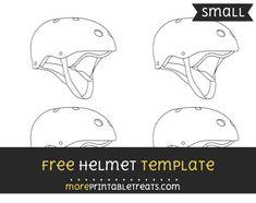Free Helmet Template - Small