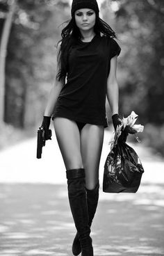 Girls With Guns 9 Funny Image from evilmilk. Girls With Guns 9 was added to the pictures archive on