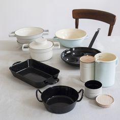 Riess enamel cookware from Austria