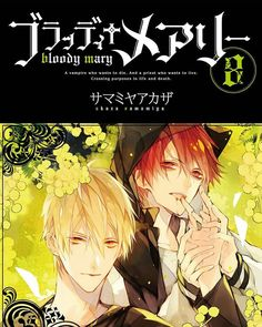"""From Baka-Updates Set in Yokohama, this is the story of a priest with a """"survival wish"""" and a vampire with a """"death wish"""". Reborn Katekyo Hitman, Hitman Reborn, Vampire Manga, 07 Ghost, Amagi Brilliant Park, Seven Knight, Snow White With The Red Hair, Deadman Wonderland"""