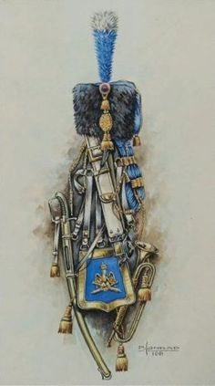 French equipment trumpeter of th chasseur a cheval of the guard