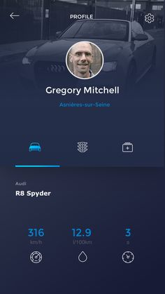 User Profile mobile #iphone #android