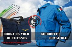 - Giubbotto Royal  http://www.uniteddesign.it/web/catalog/product_info.php?products_id=249    - Borsa da Volo  http://www.uniteddesign.it/web/catalog/advanced_search_result.php?keywords=AC014