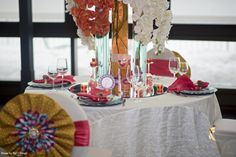 Afro Chic, Event Decor, Wedding Planner, Exotic, Bloom, Make It Yourself, Table Decorations, Contemporary, How To Make