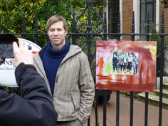 Borge Kjeldstad artist of Krig kunst was in London on March 2016 to showcase his art work to commemorate the Lofoten Volunteers from the Svolvaer raid in This was a brilliant art event in London at the Norwegian Church in Rotherhithe. 8th March, Fifth Generation, Lofoten, Fishing Villages, Volunteers, Norway, Art Work, London, Artist